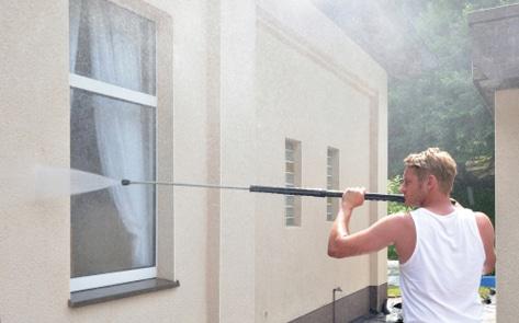 5 - Fassadenschutz auftragen