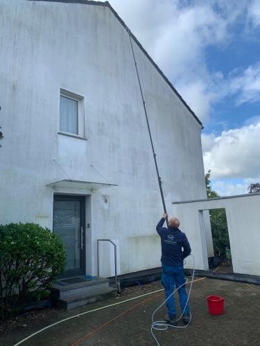 Fassadenreinigung bei Düsseldorf