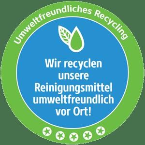 Umweltfreundliches Recycling